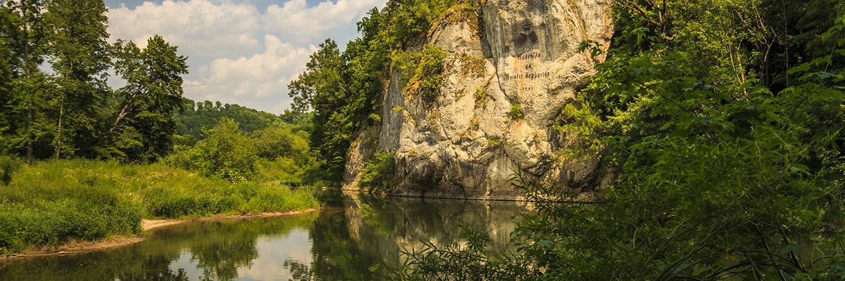 Amalienfelsen bei Inzigkofen im Donautal