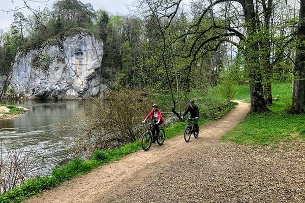 Radtour im  Donautal