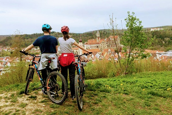 Radtour in Sigmaringen